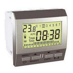 Thermostat hebdomadaire programmable Unica