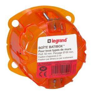 BOITE MULTIMAT 1P 50MM BATIBOX LEGRAND 090505