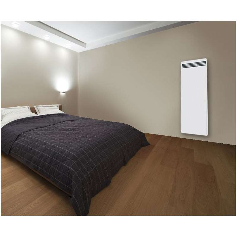 radiateur inertie r fractite vertical 1500w duplex. Black Bedroom Furniture Sets. Home Design Ideas