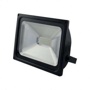 PROJECTEUR LED 230 V 50 WATT 6000°K PLAT NOIR IP65 MIIDEX VISION-EL 80031N