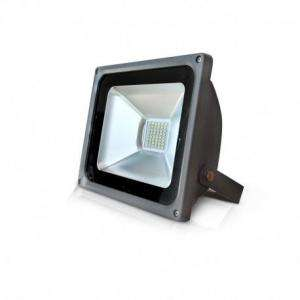 PROJECTEUR LED 230 V 30 WATT 6000°K PLAT GRIS IP65 MIIDEX VISION-EL 80021