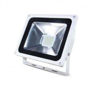 PROJECTEUR LED 230 V 30 WATT 6000°K PLAT WHITE IP65 MIIDEX VISION-EL 80021W