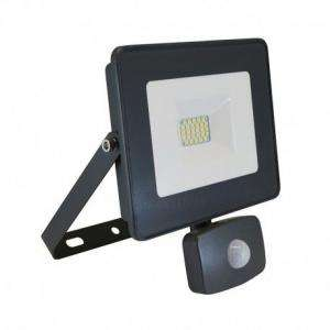 PROJECTEUR LED VISION-EL 230 V 20 WATT 4000°K PLAT GRIS + DETECT IP65