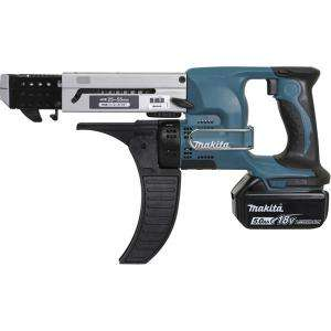 Visseuse automatique 18 V Li-Ion 5 Ah 4 x 25 à 55 mm MAKITA DFR550RTJ