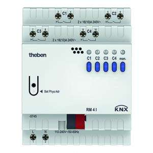 Actionneur commutation 4 c RM 4 I KNX THEBEN 4940210
