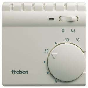 Thermostat d'ambiance avec contact chauffage additionnel THEBEN 7040001