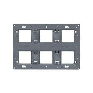 Support grand format Batibox Céliane/Mosaic 2x3 postes 2x6/8 modules LEGRAND 080266