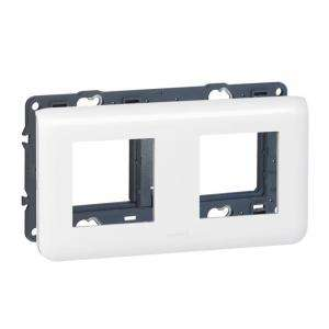 SUPPORT+PLAQUE 2X2 MOD H MOSAI LEGRAND 099688
