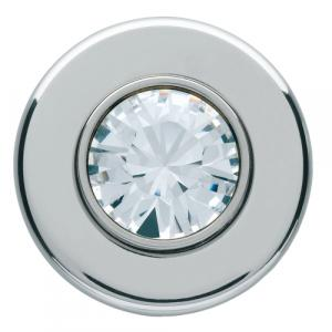 silea crystal Poussoir 24V crystal chrome HAGER WMC023