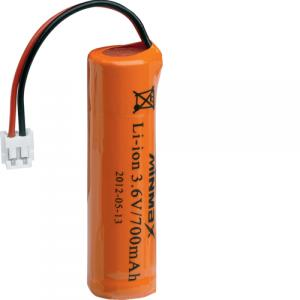 Batterie secondaire Li Ion 3.6V 700mAH GSM pour interphone radio habitat indiv. HAGER 908-21X