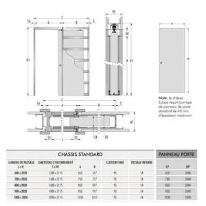 CHASSIS 95 SIMPLE 1030X2040...