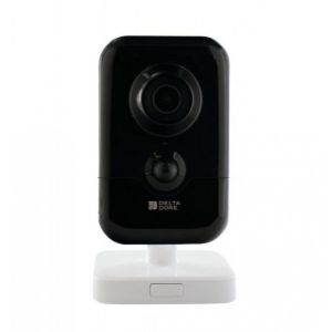 CAMERA INTERIEURE CONNECTEE WIFI FULL HD 1080p GRAND ANGLE 115°  VISION NOCTURNE DELTA DORE TYCAM 1000 6417001