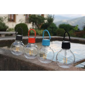 Ampoule LED solaire Color Swing Anthracite WATT & HOME 401250