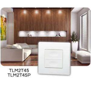 TELECOMMANDE MURALE 2 TOUCHES POWER YOKIS TLM2T45P 5454419
