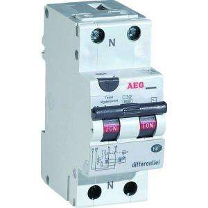 DISJONCTEUR DIFFERENTIEL 16A 30MA TYPE AC AEG AUN608452