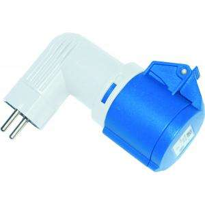 ADAPTATEUR COUDE 16A-ENTREE 2P IP20 PCE 9434100