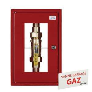 COFFRET SIMPLE COUPURE GAZ...